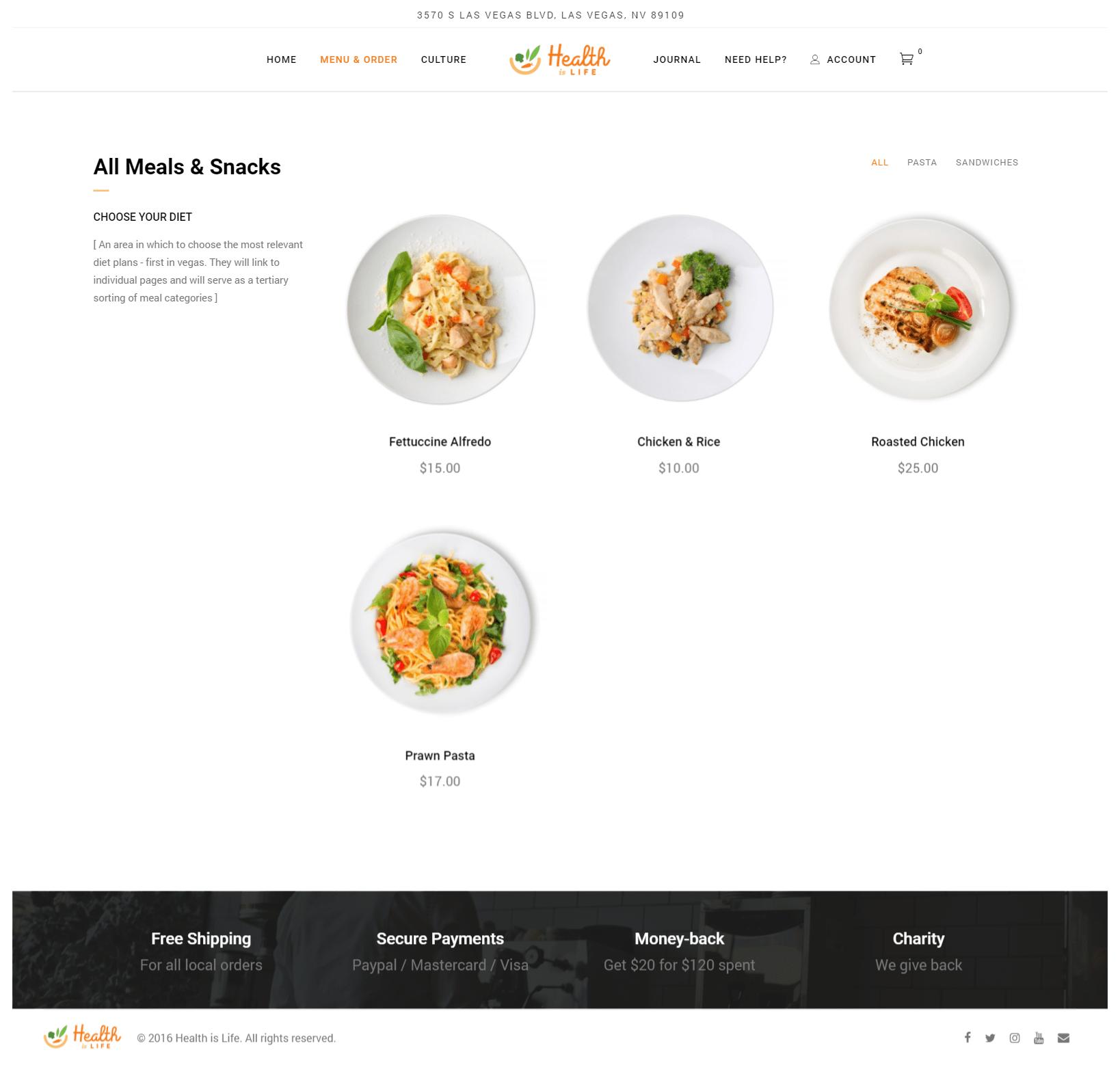 Mobius Design Agency Website Design